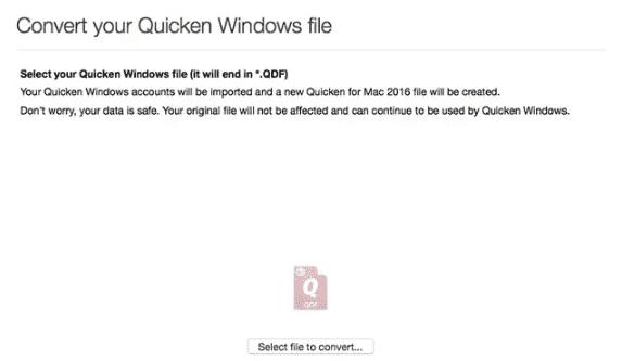 convert Quicken Data to QuickBooks